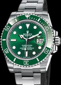 Submariner Date Green