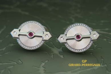 Girard-Perregaux Запонки Girard-Perregaux Gold Bridge