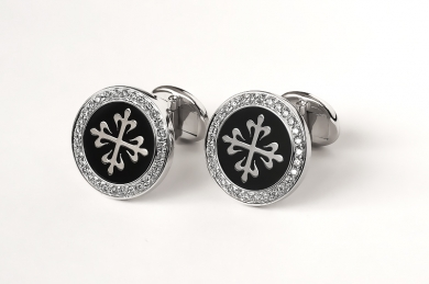 Запонки Patek Philippe Cuff Links Calatrava