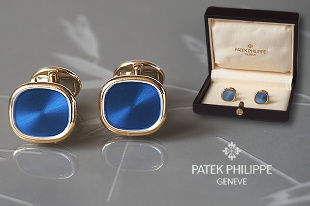 Запонки Patek Philippe Cuff Links Ellipse d' Or