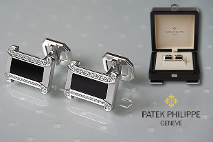 Запонки Patek Philippe Cuff Links Gondolo